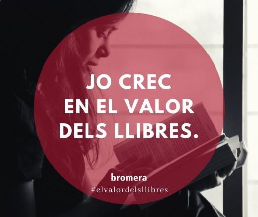 Ara més que mai, reivindiquem el valor dels llibres!