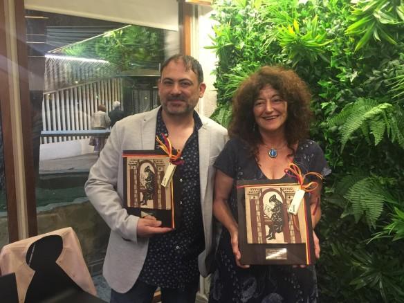 Enric Senabre i Teresa Broseta, guanyadors dels Premis Samaruc 2019