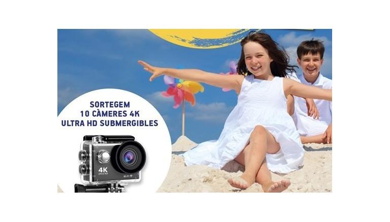 Guanya una càmera d'aventura aprenent i divertint-te!