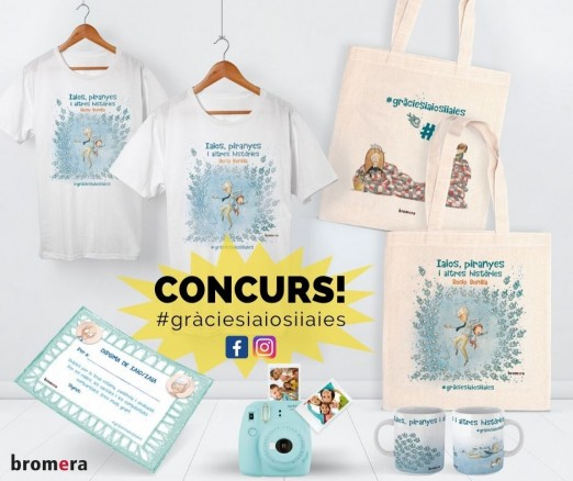 Participa al concurs del nou àlbum de Rocio Bonilla! #gràciesiaiosiiaies