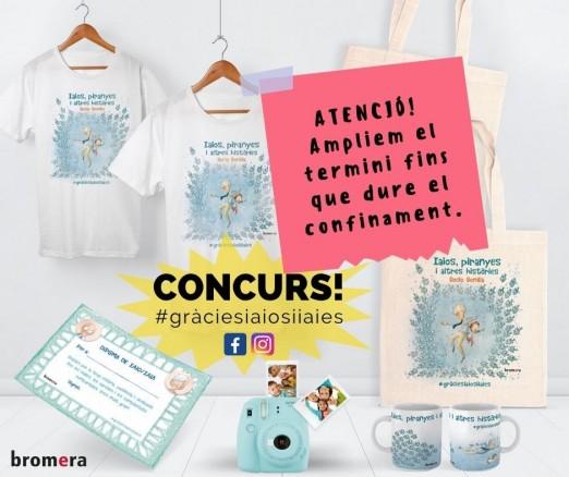 Ampliem el termini per a participar al concurs #gràciesaiosiiaies!