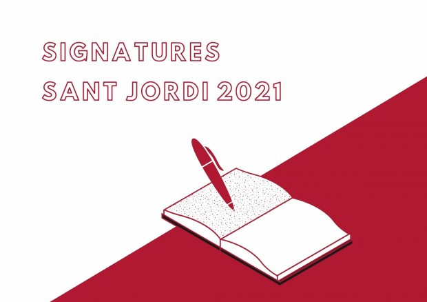 Pren nota de les signatures a Catalunya per Sant Jordi 2021