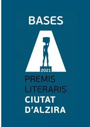 Descarrega't les bases completes dels Premis Literaris Ciutat d'Alzira 2021!