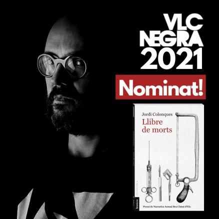 Jordi Colonques, nominat als Premis València Negra per Llibre de Morts