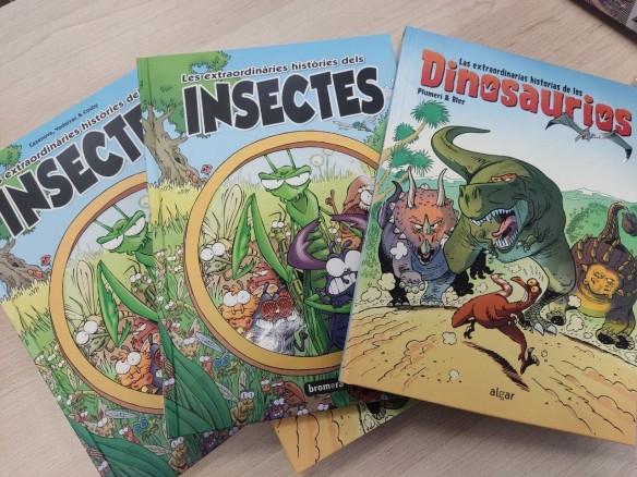 Els primers còmics de Bromera arriben a les llibreries
