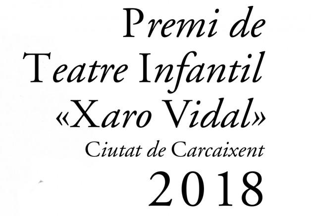 Carcaixent recupera el Premi de Teatre Infantil Xaro Vidal