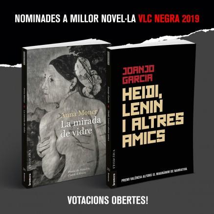 Votacions obertes per a la València Negra 2019!