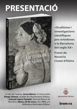 Anna Moner presenta La mirada de vidre a Alzira