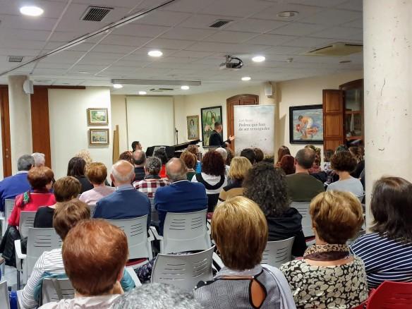 L'escriptor Jovi Seser estrena el recital basat en el seu darrer i guardonat treball