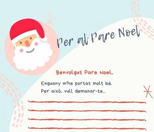 Escriu la teua carta al Pare Noel en valencià!