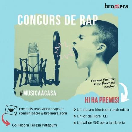 #MúsicaACasa Concurs de rap amb Teresa Patapum!!!