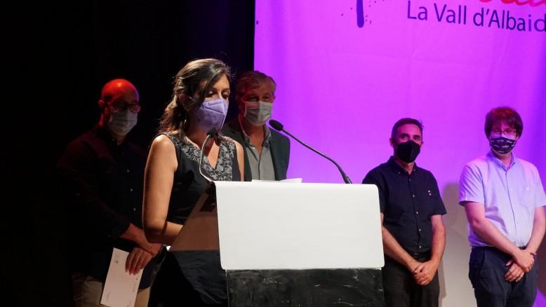 Elisabet Roig guanya el 27é premi de Literatura Eròtica de la Vall d'Albaida