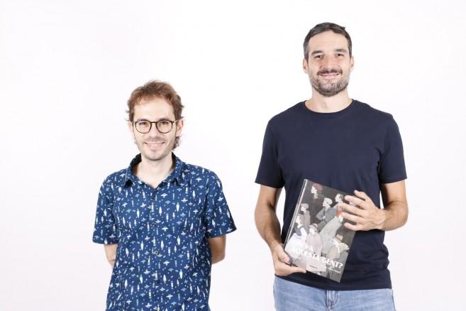 Ja en llibreries «On va aquesta gent?» el primer àlbum il·lustrat per a adults de Bromera