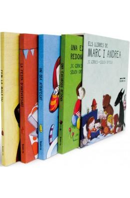 Els llibres de Marc i Andrea