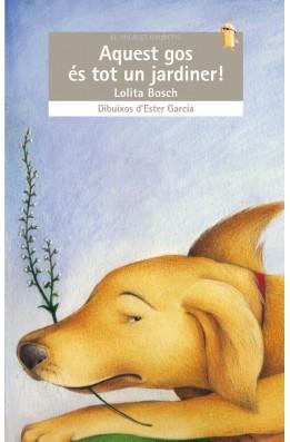 Aquest gos és tot un jardiner!