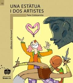 Una estàtua i dos artistes