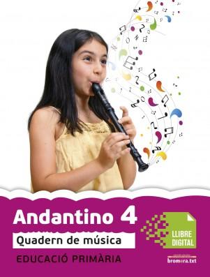 Andantino 4 Quadern música (App Digital)
