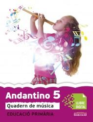 Andantino 5. Quadern música (App Digital)
