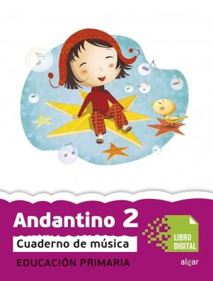 Andantino 2 Cuaderno música (App Digital)
