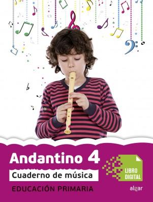 Andantino 4 Cuaderno música (App Digital)