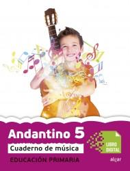 Andantino 5.Cuaderno música (App Digital)