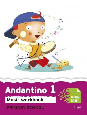 Andantino 1 Music Workbook (App Digital)