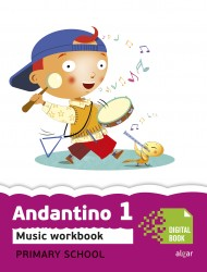 Andantino 1. Music Workbook (App Digital)