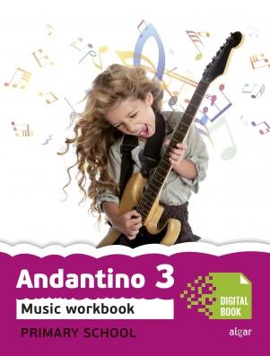 Andantino 3 Music Workbook (App Digital)