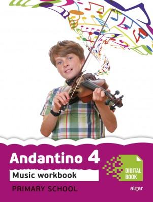 Andantino 4 Music Workbook (App Digital)