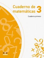 Cuaderno de matemáticas 3 (Cuaderno primero)