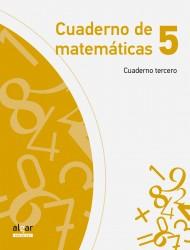 Cuaderno de matemáticas 5 (cuaderno tercero)