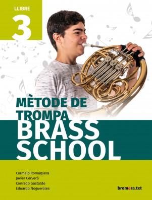 Mètode de trompa. Brass School 3