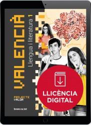 Valencià. Llengua i literatura 1 - Projecte Valor (llicència digital)