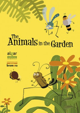 The animals in the garden