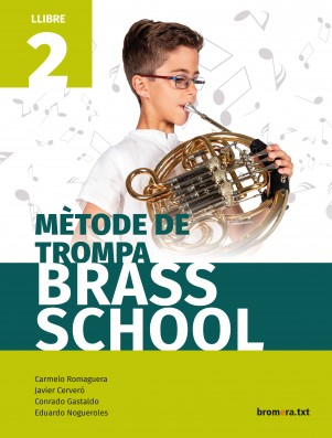 Mètode de trompa. Brass School 1