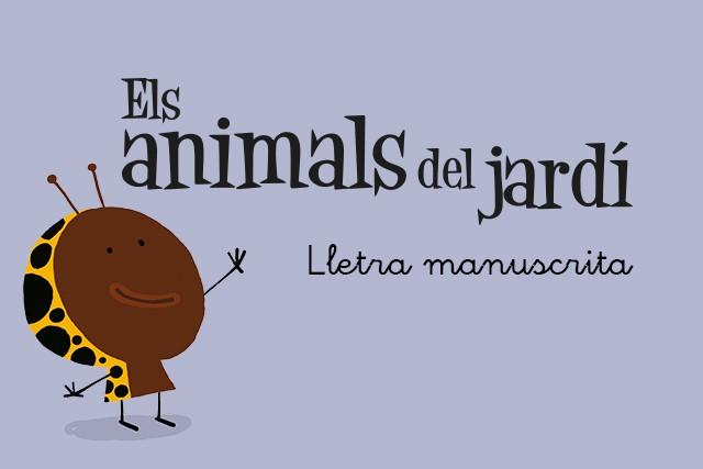 Els animals del jardí (Versió manuscrita)