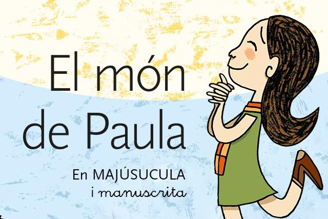 El món de Paula (Versió majúscules i manuscrita)