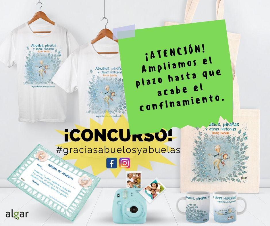 Concurso #graciasabuelosyabuelas Rocio Bonilla COVID-19