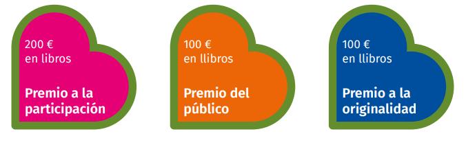 Premios concurso booktubes Algar