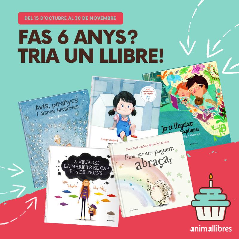 llibres infantils campanya fas sis anys tria un llibre
