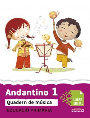 Andantino 1 Quadern música (App Digital)