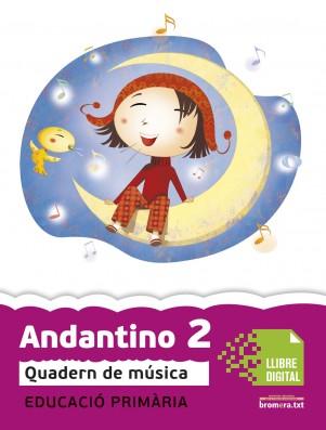 Andantino 2 Quadern música (App Digital)