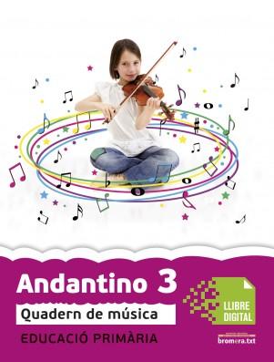Andantino 3 Quadern música (App Digital)