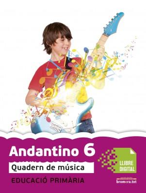Andantino 6 Quadern música (App Digital)