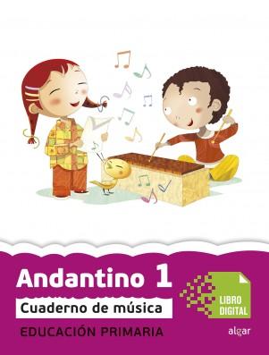 Andantino 1 Cuaderno música (App Digital)
