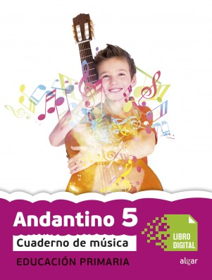 Andantino 5 Cuaderno música (App Digital)