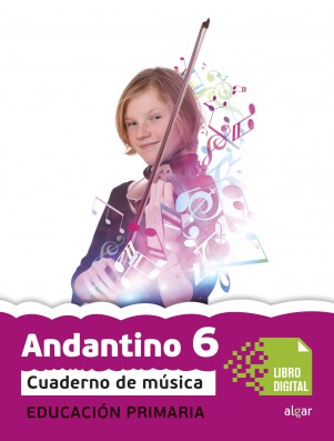 Andantino 6 Cuaderno música (App Digital)