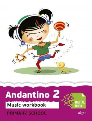 Andantino 2 Music Workbook (App Digital)