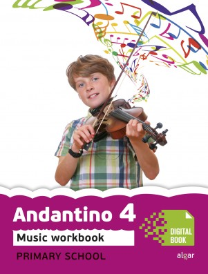 Andantino 4 Music Workbook (App Digital)