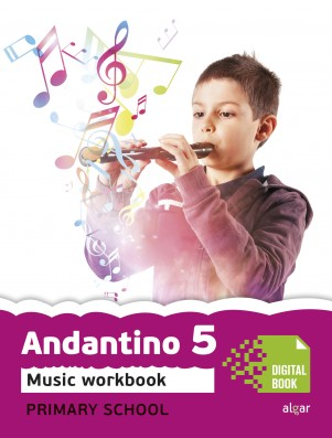 Andantino 5 Music Workbook (App Digital)